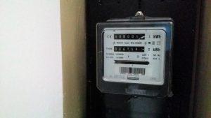 afbeelding van analoge meter in meterkast en geen slimme meter