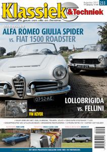 Cover van Klassiek en Techniek editie 233 van augustus 2017 met een artikel van Ralph Stoove over de DAF Kalmar Tjorven