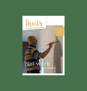 Cover Thuis BGH Magazine juli 2017 met thema Net Werk of netwerk