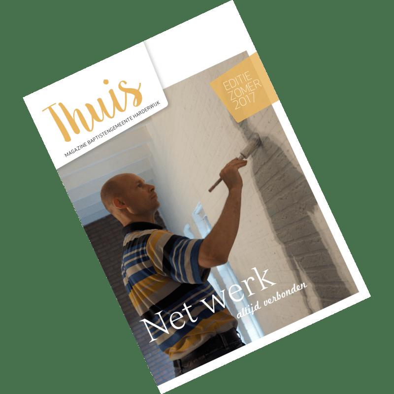 Thuis juli 2017 thema 'Net Werk'