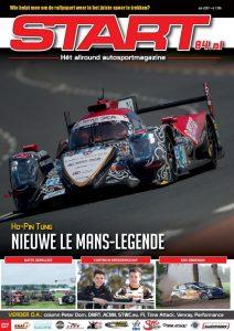 Cover van autosportmagazine Start 84 van juli 2017 met daarin bijdragen van Ralph Stoové