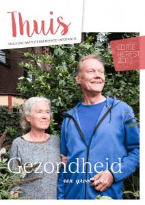 Cover Thuis BGH Magazine juli 2017 met thema Gezondheid een groot goed met een bijdrage door Ralph Stoove
