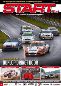 Cover van autosportmagazine Start 84 van januari 2018 met daarin bijdragen van Ralph Stoové