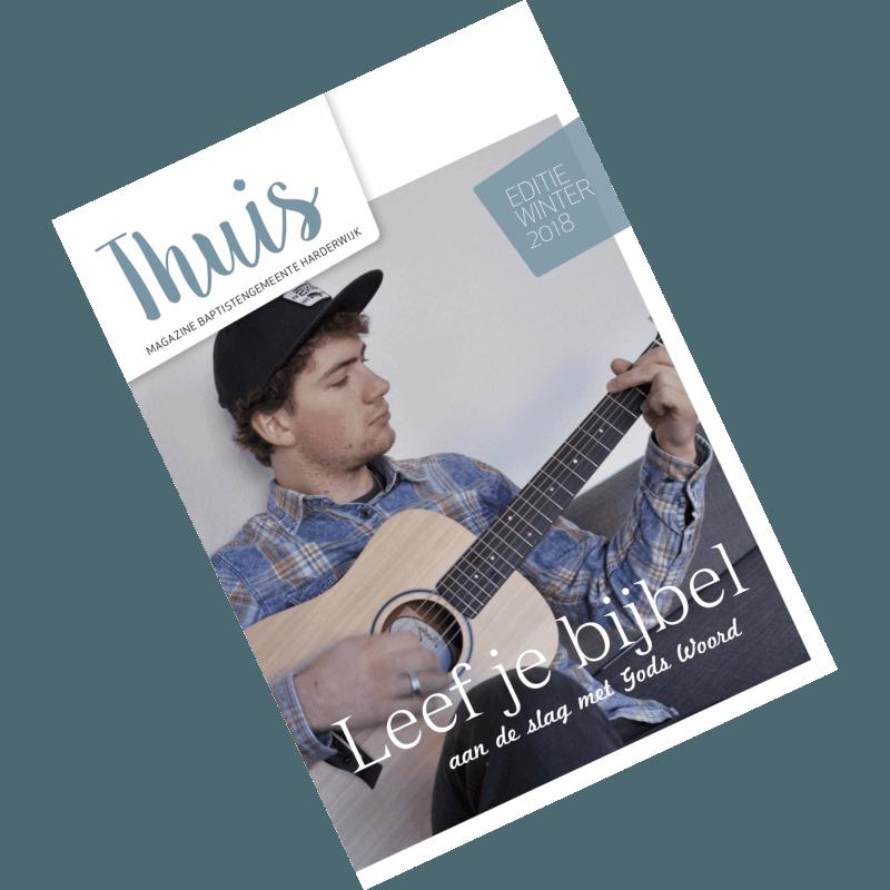 Thuis januari 2018 thema Leef je Bijbel