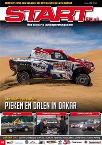 Cover van autosportmagazine Start 84 van februari 2018 met daarin bijdragen van Ralph Stoove