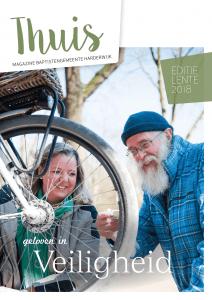 Cover Thuis BGH Magazine april 2018 met thema Veiligheid met een bijdrage door Ralph Stoove