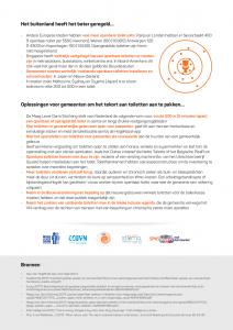 Factsheet gastvrij toegankelijk schoon meer toiletten in nederland Maag Lever Darm Stichting Ralph Stoove Ragasto blad 2 van 2