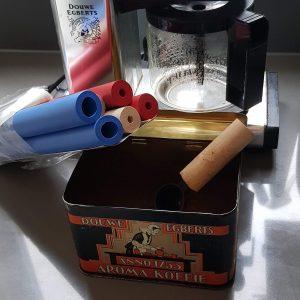 schuimrubber foam tubing bestek- en penverdikker geschikt voor maatschep koffie