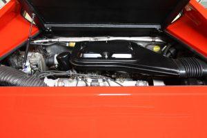 V8-Motor-van-Ferrari 308 GT4 Dino door Cees Stokman van Passion 4 Classics voor Ragasto