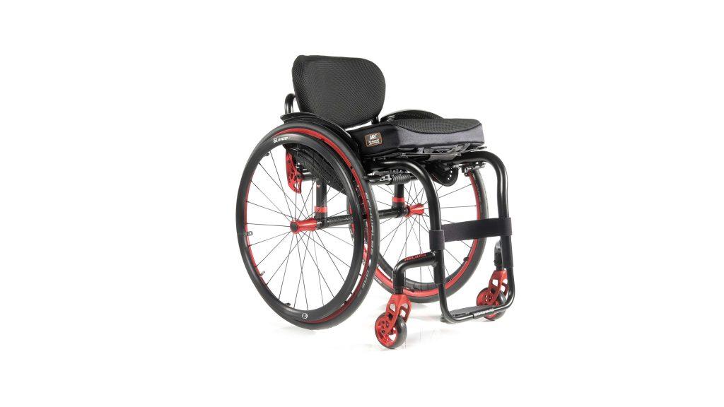 Foto van de Quickie Helium rolstoel.