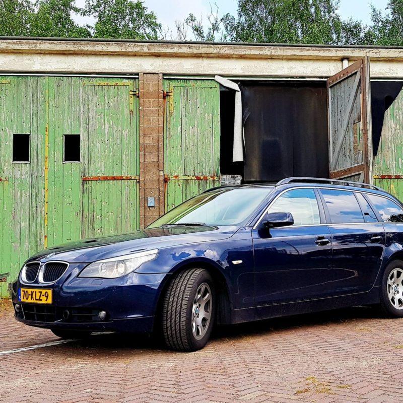 Schadeherstel en spuiten van mijn BMW 5-Serie Touring