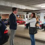 Wethouder Jeroen de Jong in gesprek met Harderwijkse Zaken over de toegankelijkheid van Harderwijk voor mensen met een handicap, beperking of rolstoel