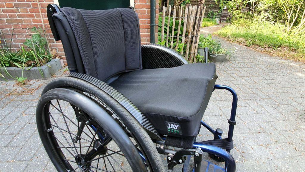 Afbeelding van Jay Easy Fluid zitkussen in rolstoel