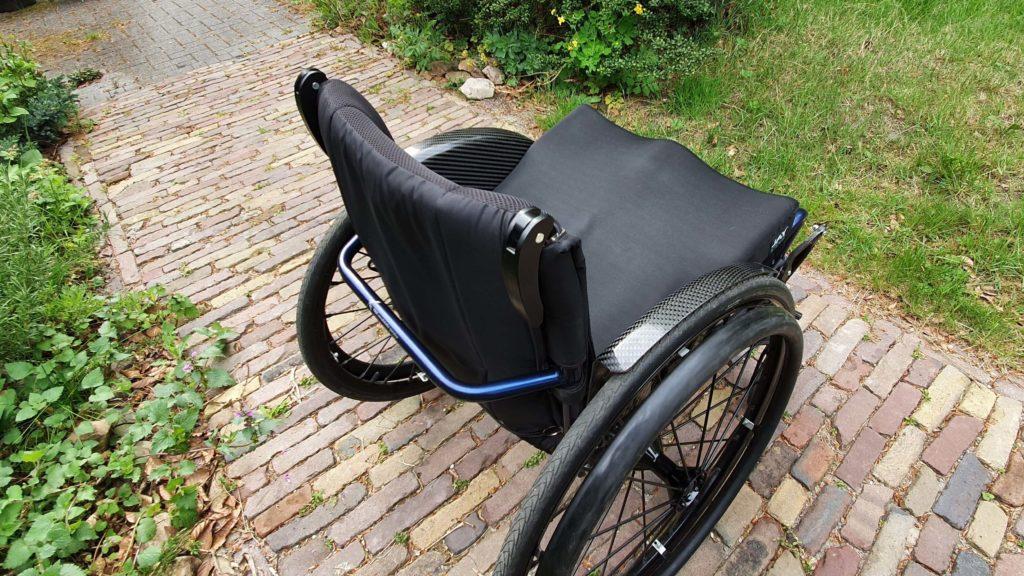 Afbeelding van waterafstotende bekleding voor de rugleuning van mijn TNS Notos rolstoel