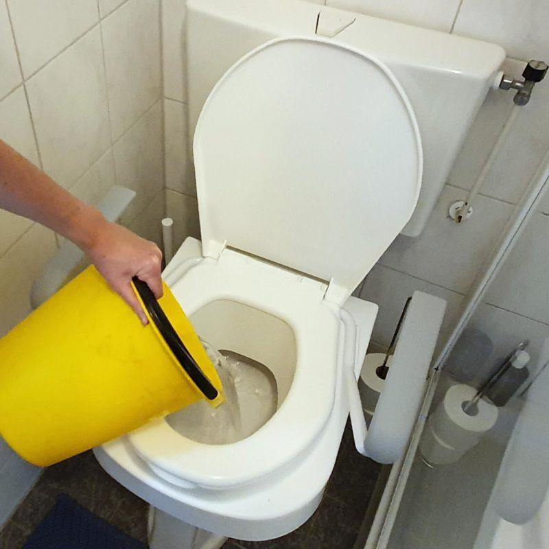 Zeg nee tegen schoon drinkwater door de wc