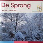 foto van Cover van De Sprong februari en maart 2021 van Reuma Patiënten Vereniging Randmeren (RPV)