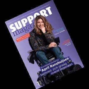 cover van Support Magazine maart 2021, deel 1 van dat jaar