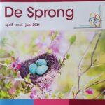 cover van De Sprong van april, mei en juni 2021, het magazine van reuma patiënten vereniging Randmeren